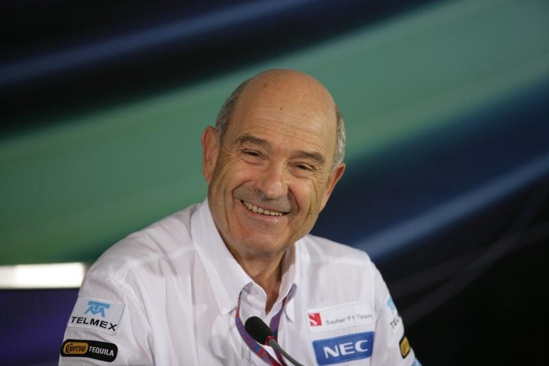 Peter Sauber está animado para 2013