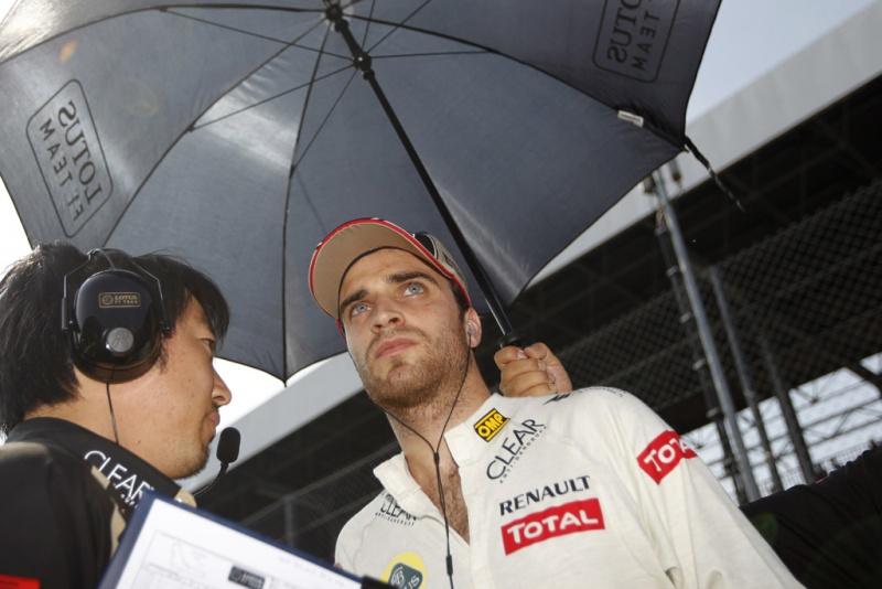 Jerome em Monza, quando foi titular da Lotus