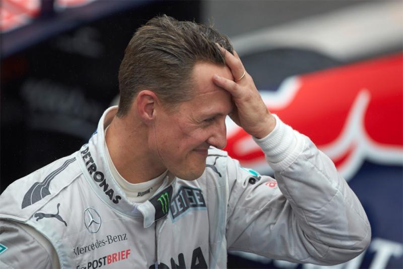 Schumacher elogiou Haug em seu site