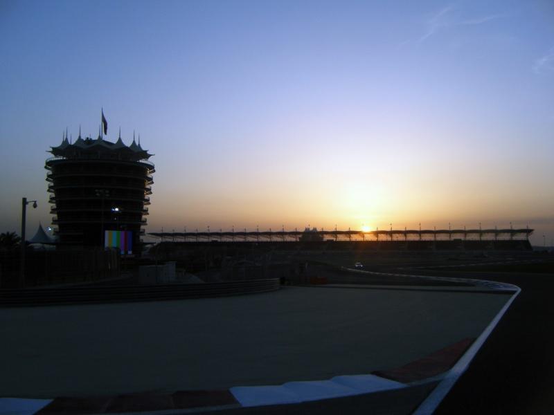 A prova do Bahrein pode ser realizada dia 30 de outubro