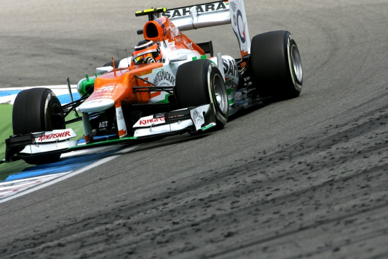 Force India no GP da Alemanha