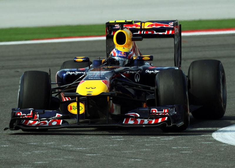 Webber se dá bem na Espanha