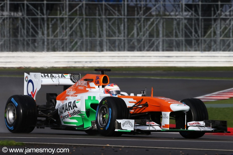 Di Resta já fez primeiro shakedown do carro