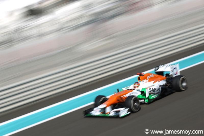 Bianchi - por enquanto - é o piloto de testes do time