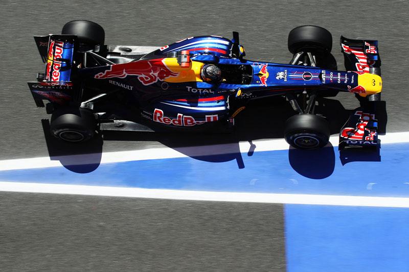 Vettel humilhou a concorrência
