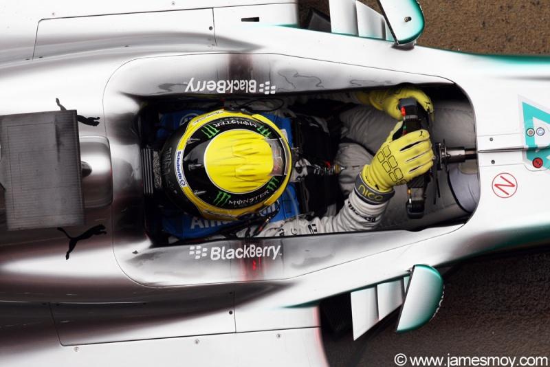 Nico Rosberg foi o mais rápido dos testes