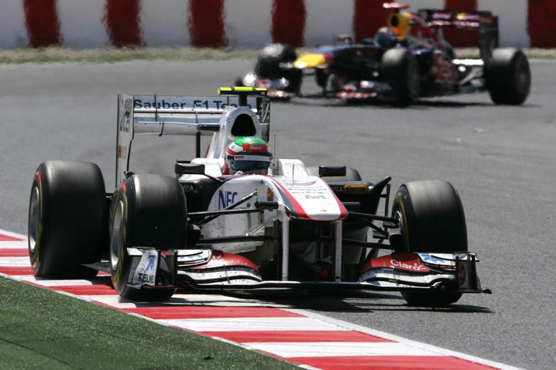 Sergio Perez: depois de cinco corridas, os pontos