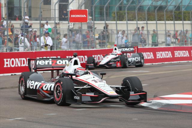 Power e Castroneves em St. Pete