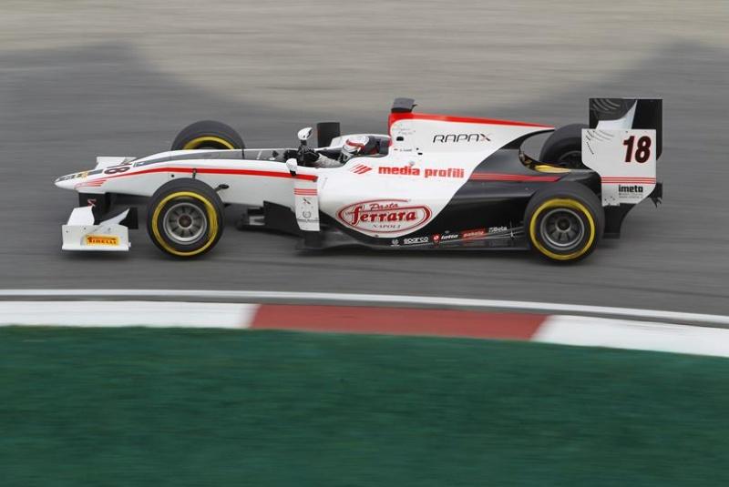 Coletti é líder da GP2 com 36 pontos