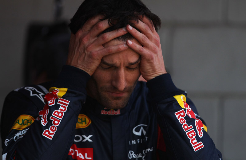 Webber fez corrida discreta após sair da pole