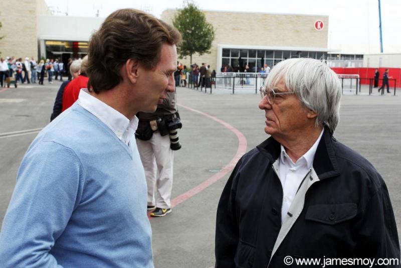 Bernie e Horner, da Red Bull