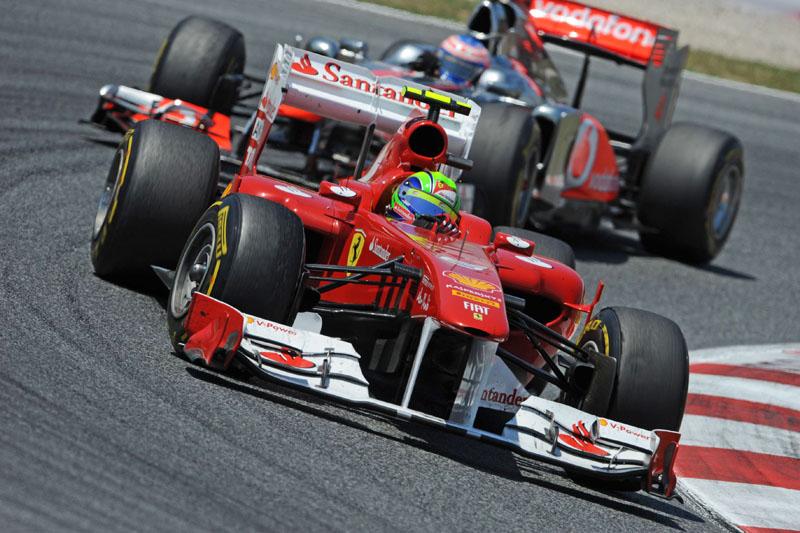 Felipe Massa abandonou o GP da Espanha