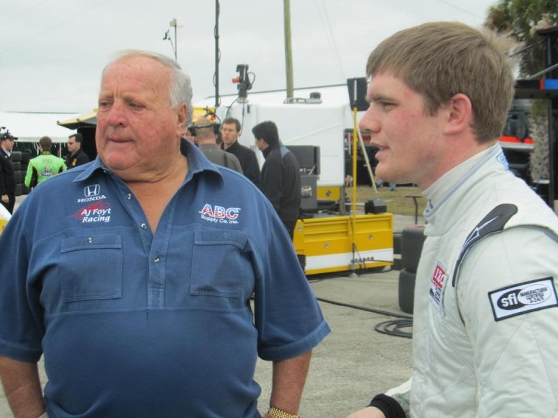 AJ Foyt e Conor Daly em Sebring
