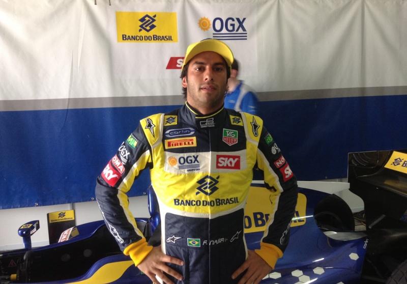 Nasr é o terceiro colocado na GP2 após a primeira rodada dupla