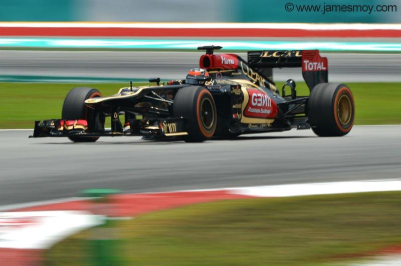 Räikkönen não foi bem em Sepang