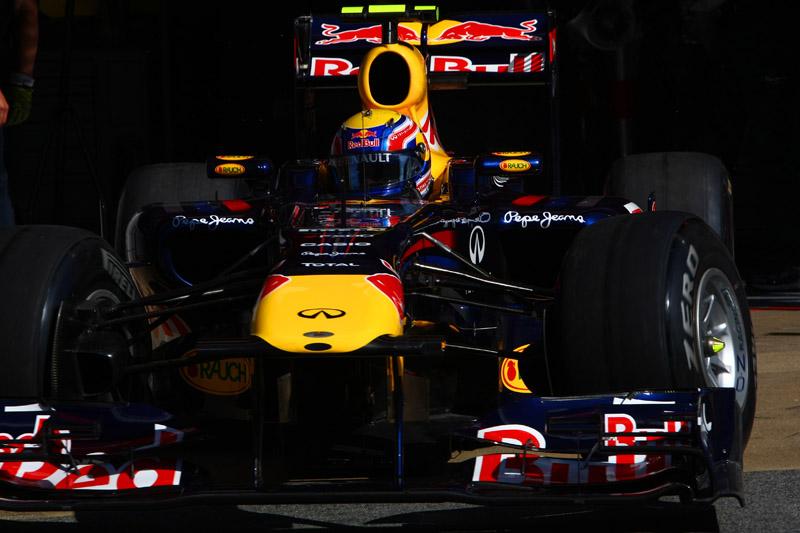 Mark Webber largou na pole e terminou em quarto na Espanha