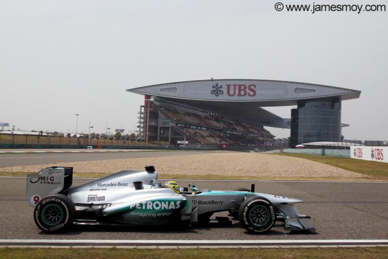 Nico Rosberg em Xangai