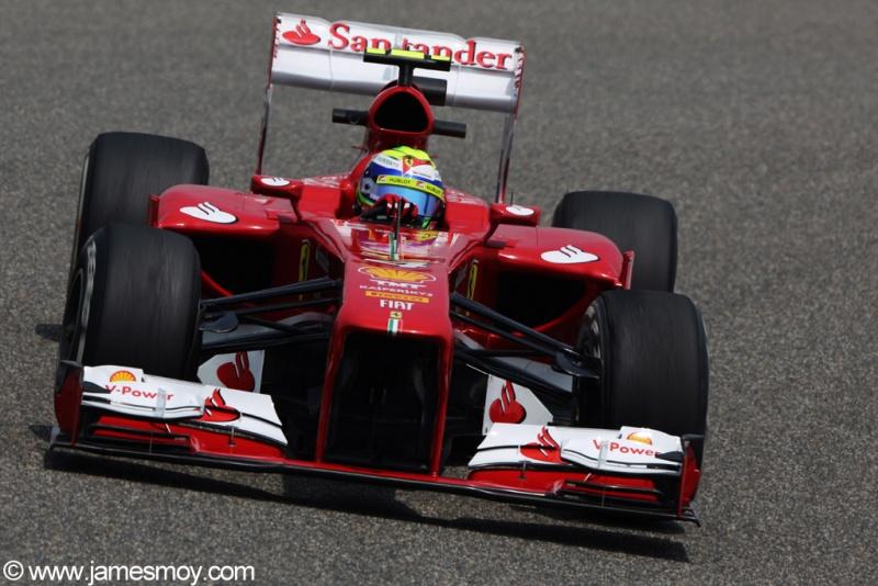 Felipe Massa nesta sexta em Xangai
