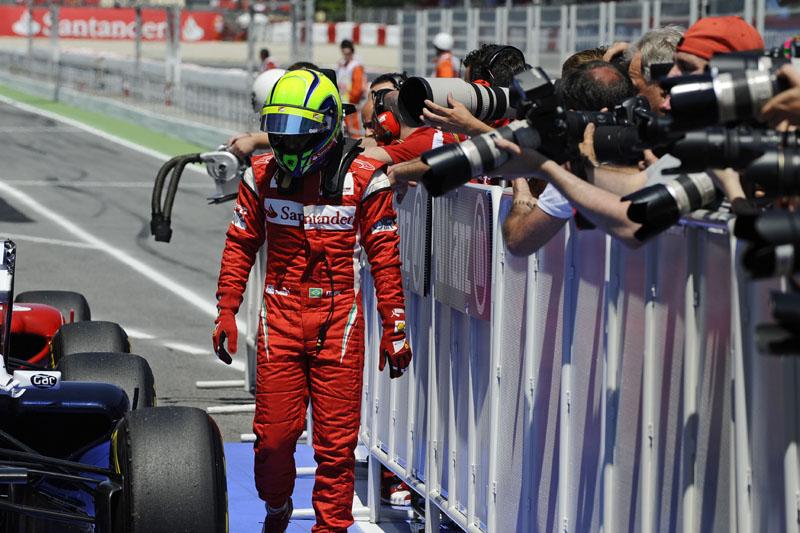 Felipe Massa em Barcelona