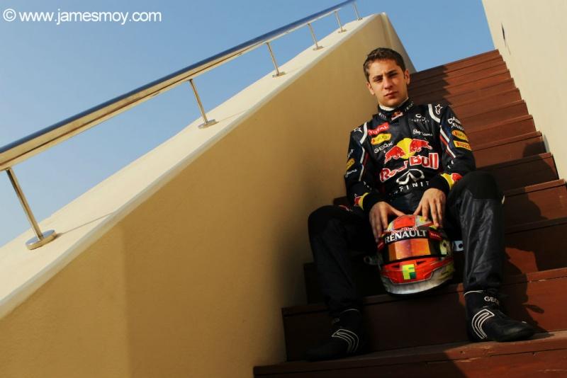 Frijns andou na Red Bull em teste de jovens pilotos
