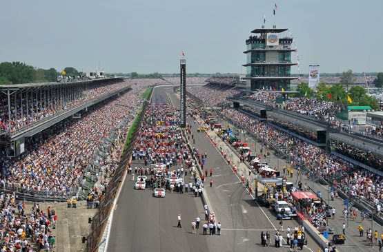 Grid para a Indy 500 de 2012