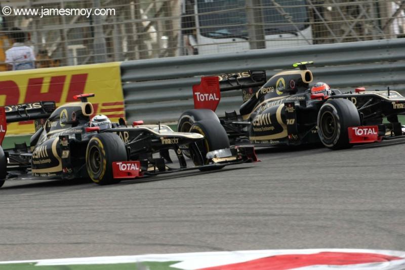 Kimi passa Grosjean no Bahrein no ano passado