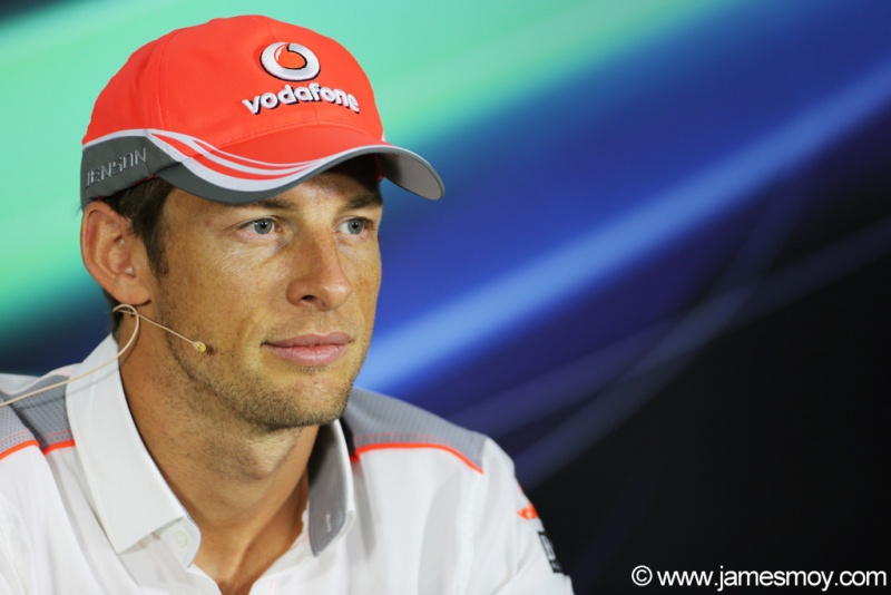 Button nesta quinta no Bahrein