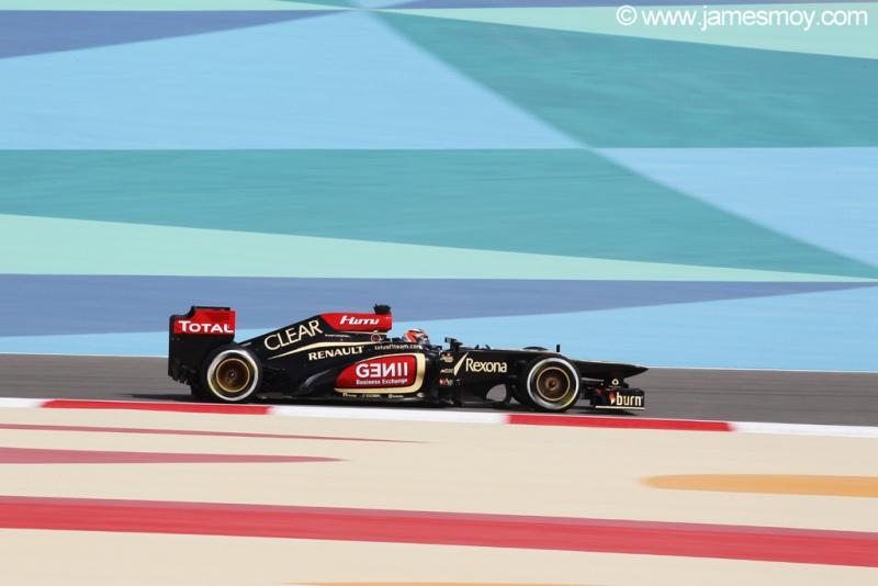 Kimi liderou a sexta-feira no Bahrein