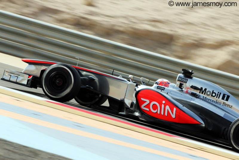 Para Button, McLaren está subindo