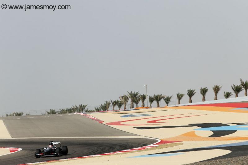 Nico Hülkenberg no Bahrein
