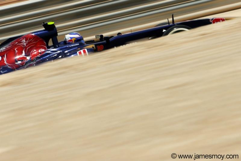 Daniel Ricciardo larga em 13º amanhã