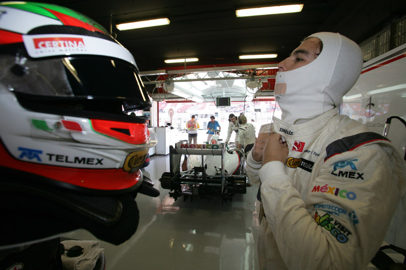 O objetivo Sergio Perez em Mônaco é entrar nos pontos