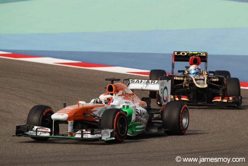 Di Resta repetiu seu melhor resultado na carreira