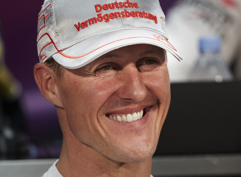 Schumacher venceu o GP de Mônaco em cinco ocasiões