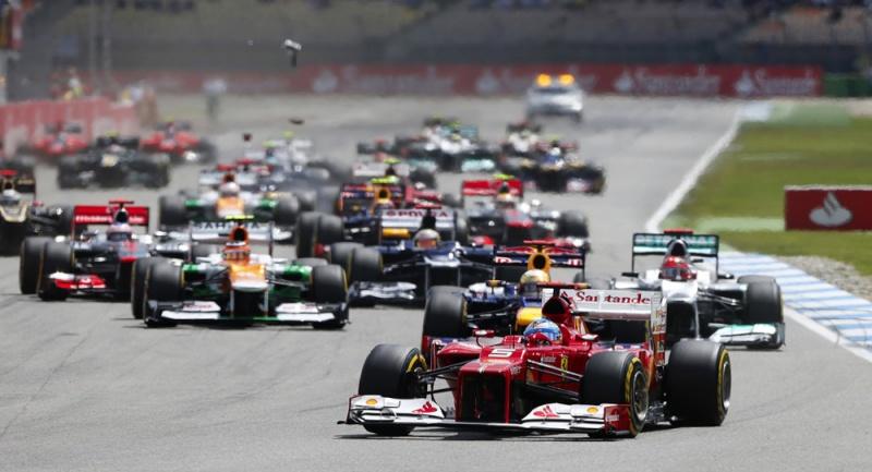 A última pole da Ferrari foi no GP da Alemanha de 2012