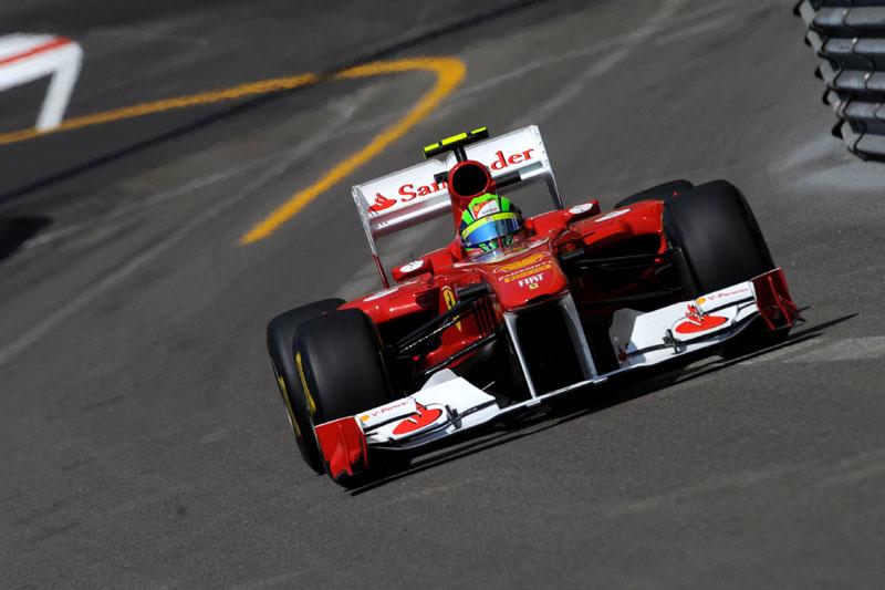 Felipe Massa em Mônaco