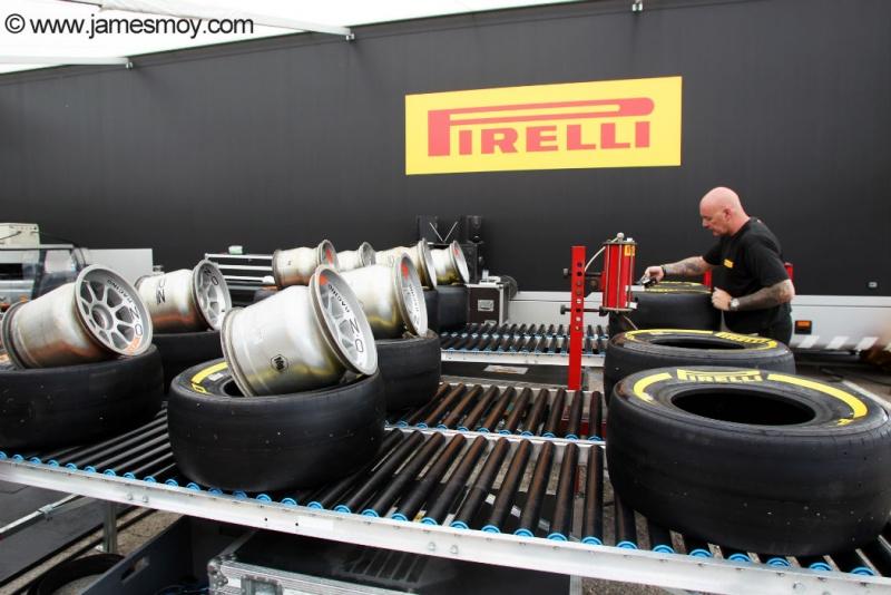 Pirelli faz preparo de compostos na Catalunha