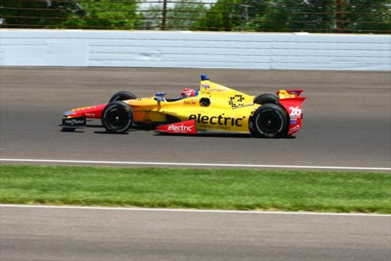 Muñoz liderou o dia em Indianapolis