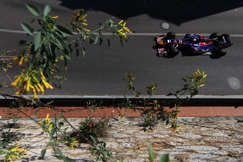 Carro da Toro Rosso em Mônaco