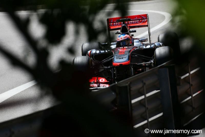 Button foi três vezes ao pódio em Mônaco