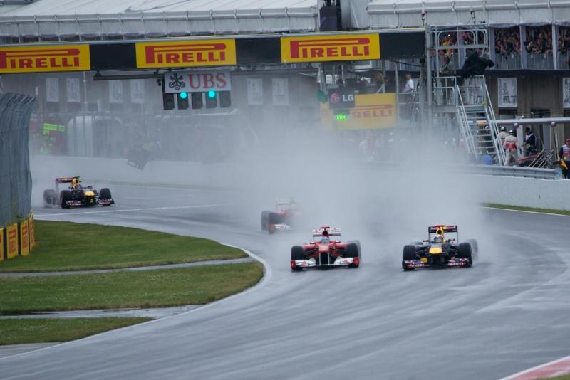 A prova de 2011 teve mais de 4h de duração devido à chuva