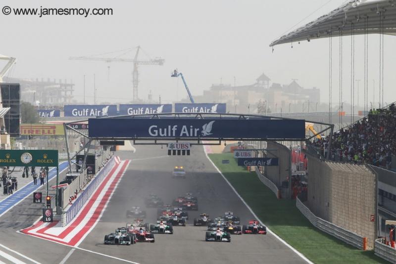 Bahrein pode receber testes de pré-temporada