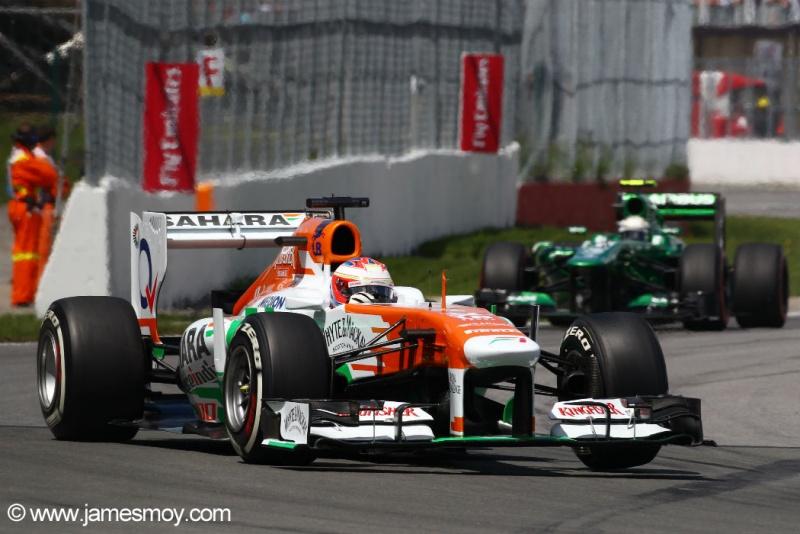 Com o resultado a Force India se isola em quinto entre os construtores com 51 pontos
