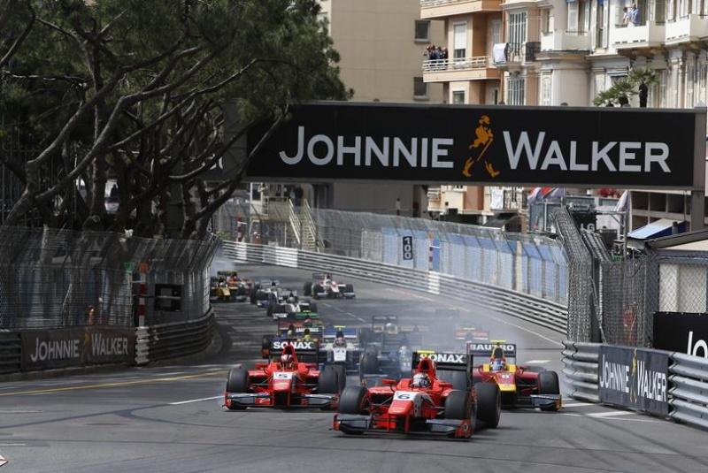 Largada para GP2 em Mônaco