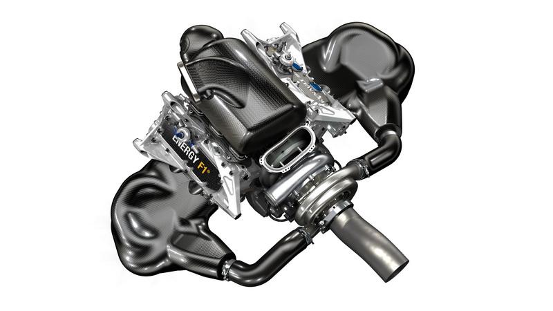 Novo motor Energy F1