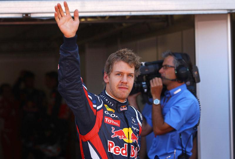 Vettel venceu mais uma