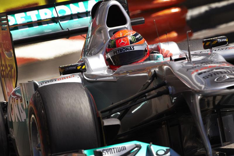 Michael Schumacher em Mônaco