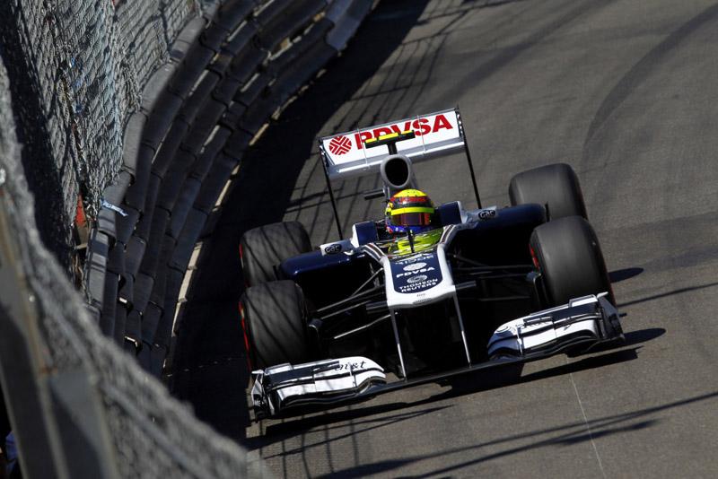 Maldonado vinha em sexto até as últimas voltas