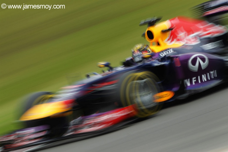 Sebastian Vettel durante o segundo treino livre
