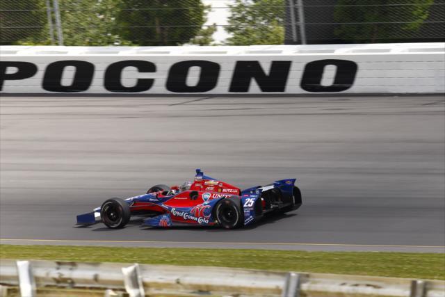 Marco Andretti em Pocono